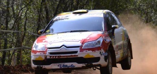 """Misionero de Rally: """"Nety"""" Silvestri y Sansaloni festejaron bajo la lluvia"""