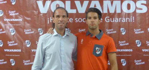 """El """"Monito"""" Navarro Montoya llegó a Guaraní para continuar con el legado familiar"""