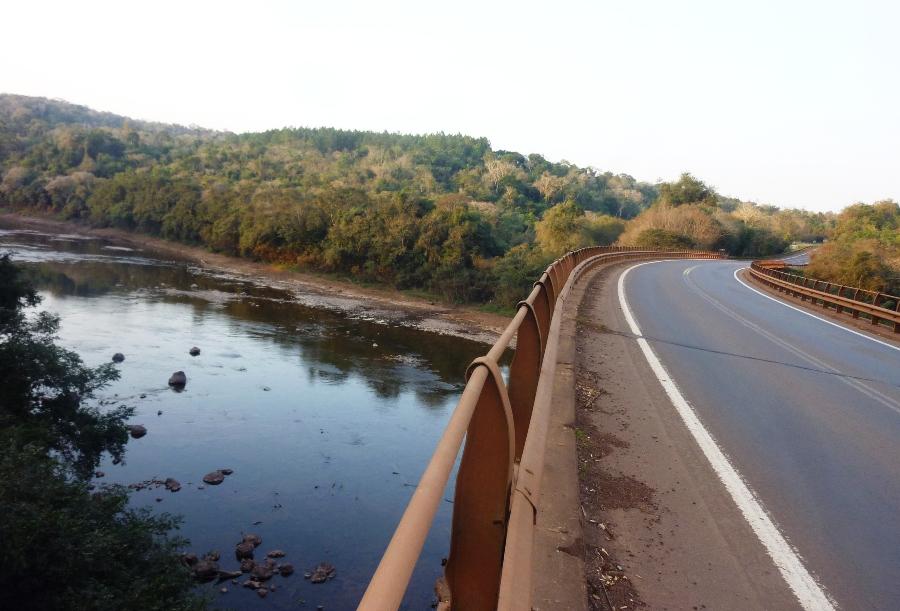 Bajas importantes en algunos arroyos y ríos de Misiones