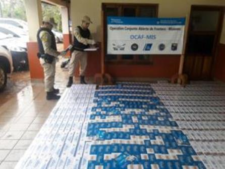 Prefectura secuestró 1.200 cartones de cigarrillos valuados en más de 500 mil pesos