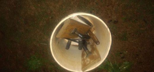 Intentaba escapar con herramientas de un obrador y fue detenido en Posadas