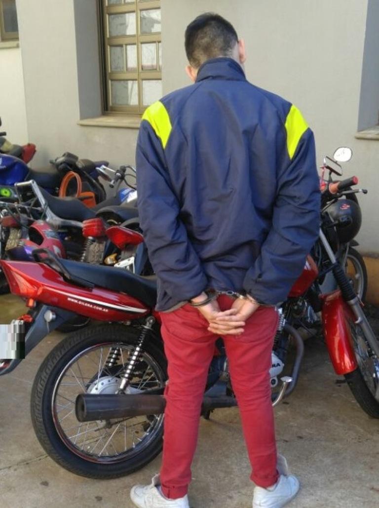 Arrestaron a motochorro luego de una persecución en Posadas