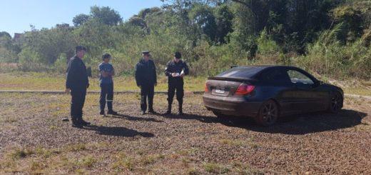 Policías secuestraron en Posadas un coche de alta gama robado en Buenos Aires