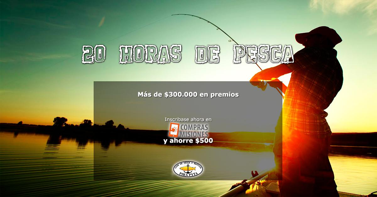 El sábado comienzan las 20 Horas de Pesca del Pirá Pytá: Así estará el tiempo en Posadas
