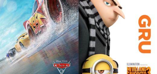 """En el mes del Niño, Misiones Online y el IMAX hoy sortean entradas para ver """"Cars 3"""" ó """"Mi Villano Favorito 3"""""""