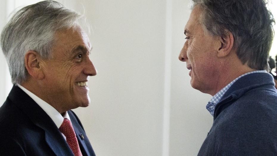 Macri recibió en Olivos a Piñera y le dio el apoyo para las presidenciales chilenas