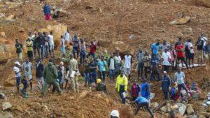 África: Piden ayuda alimentaria internacional en Sierra Leona tras la tragedia de Freetown por inundaciones y aludes