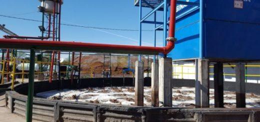La fábrica de tanino Unitán inauguró su moderna planta de tratamiento de efluentes, con tecnología única en el NEA