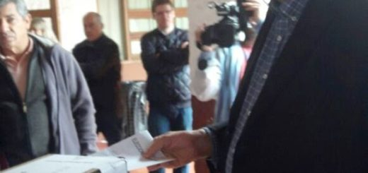 Luis Pastori votó y afirmó que desde Cambiemos hay excelentes expectativas para las PASO de hoy