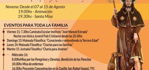 Mañana se realizará la fiesta patronal en honor a San Roque en el barrio Los Aguacates de Posadas