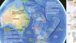 Zelandia, entre Australia y Nueva Zelanda, un nuevo mundo a descubrir por la ciencia