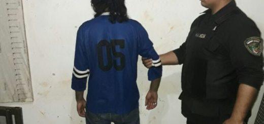 """Posadas: detuvieron a """"Renecillo"""" por un robo en un local comercial"""