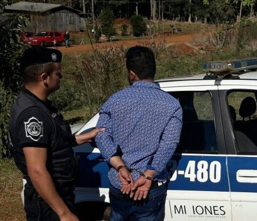 Tras las rejas por atacar a su ex concubina en San Vicente