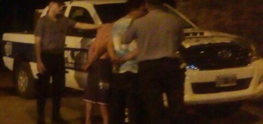 Tras una persecución por los pasillos de la chacra 159, atraparon a dos ladrones