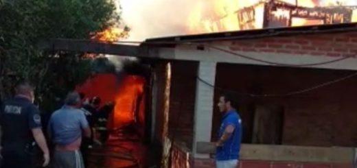 Vecino de Montecarlo pereció calcinado al incendiarse su vivienda