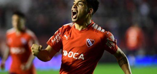 En su debut en la Superliga, Independiente goleó a Huracán
