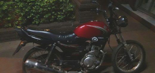 Tras una persecución en Posadas detienen a un presunto ladrón de motos