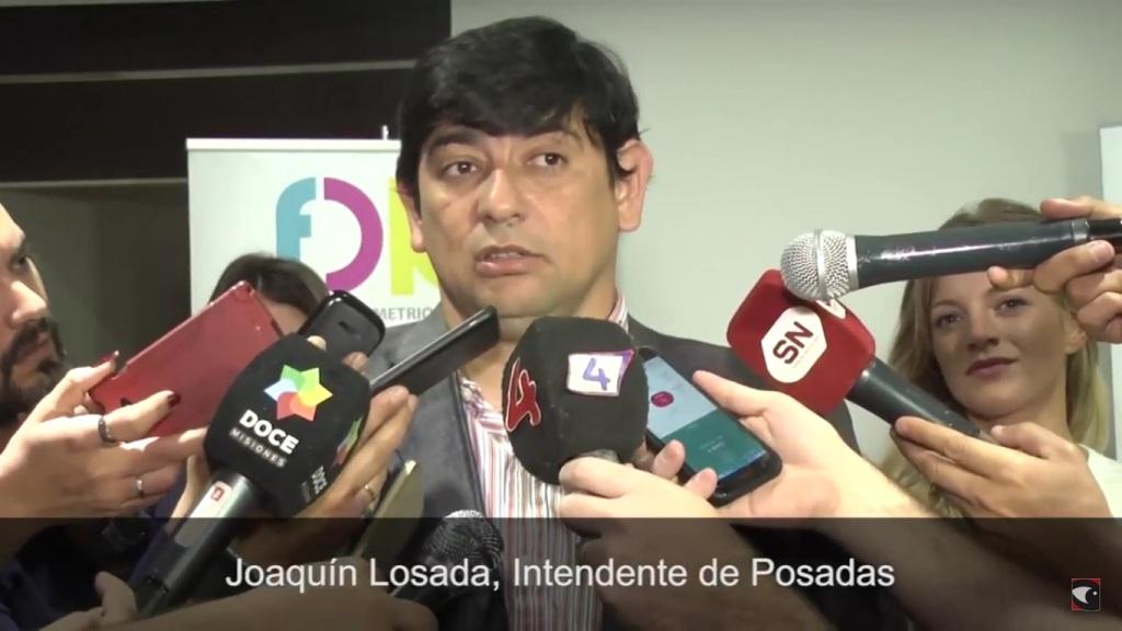 Losada anunció que tras las Paso iniciará una campaña para que el gobierno nacional atienda los problemas de Posadas