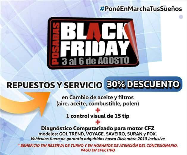 Agencias de autos se suman al Black Friday
