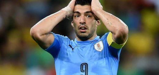 Suárez estará un mes de baja y no podrá jugar para Uruguay contra la Argentina