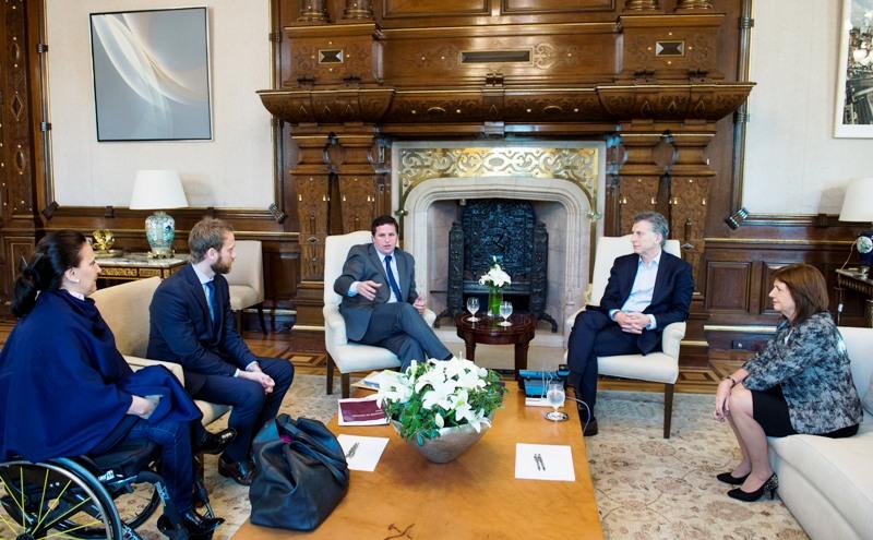 El presidente Macri recibió a fiscales responsables de las unidades de causas por narcotráfico y secuestros extorsivos