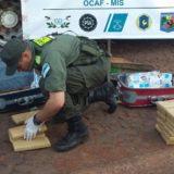 Gendarmería decomisó más de 96 kilos de marihuana en Santo Pipó