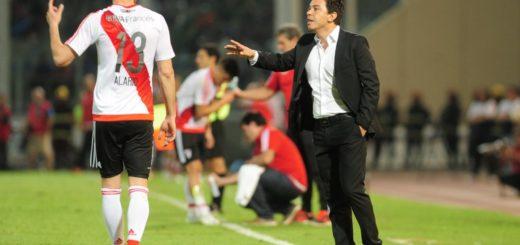 """Marcelo Gallardo: """"Si Alario se quiere ir, yo lo acompaño a Ezeiza"""""""