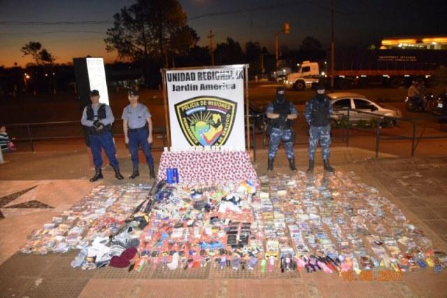 Jardín América: cayó fuertemente armado otro integrante de clan ligado al narcotráfico