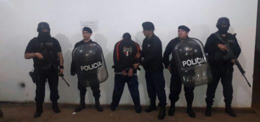 Iguazú: el preso recapturado el sábado es el mismo al que el agente de Policía habría dejado escapar para ir a robar