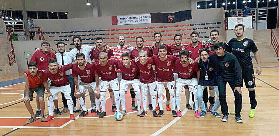 Otra victoria de Telecentro en el Nacional de Clubes