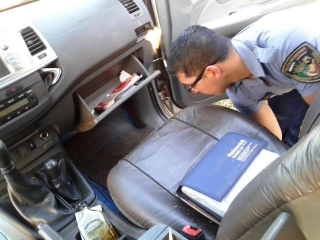 Incautaron marihuana en la camioneta de un hombre investigado por narcotráfico, robo de ganado y por balear la casa del vecino en 25 de Mayo