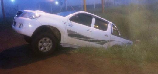 Conducía ebrio cuando despistó sobre la ruta 14 y luego abandonó su vehículo para fugarse