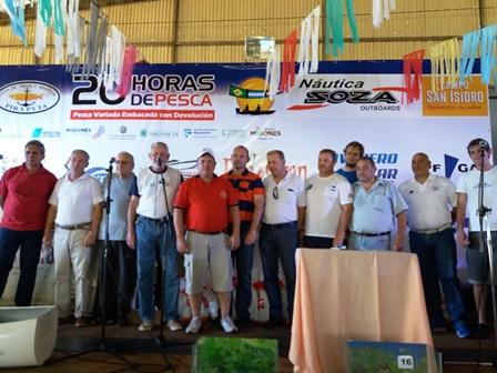 La EBY entregó un terreno para la nueva sede de la Federación Misionera de Pesca y Lanzamiento