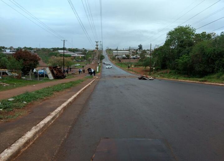 Accidente fatal en Posadas: motociclista falleció tras colisionar con una camioneta
