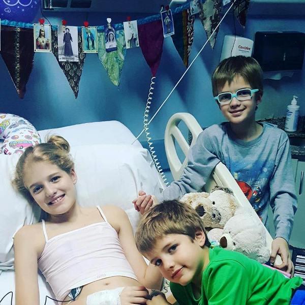 La campaña de Justina, que sigue esperando un corazón
