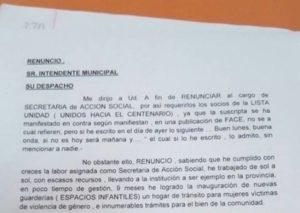 """Eldorado: """"Renuncié por cuestiones netamente políticas"""" dijo Norma Torres"""