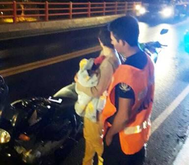 Corrientes: Una joven habría intentado arrojarse junto a su bebé desde Puente Belgrano