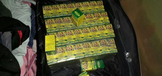 La Policía incautó 9.800 dosis deKetaminaen la Terminal de Ómnibus de Jardín América