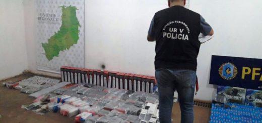 Puerto Iguazú: policías interceptaron un auto con contrabando en zona costera