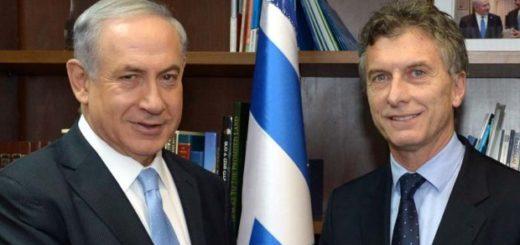 Macri y Netanyahu ofrecerán hoy a las 12:30, una declaración conjunta a la prensa
