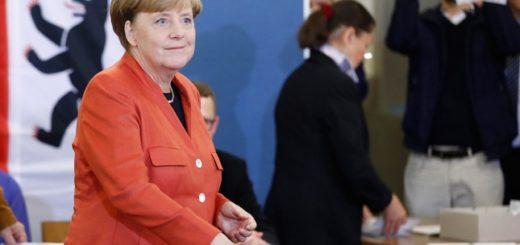 """Alemania: Merkel celebró la victoria pero admitió que esperaba """"un resultado un poco mejor"""""""