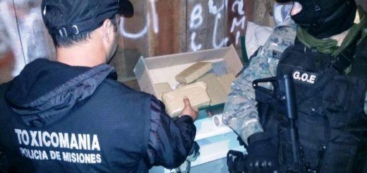 El Ministro de Gobierno Marcelo Pérez felicitó a la Policía por desbaratar una banda narco en Garupá