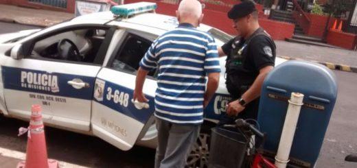 Furioso por ruidos molestos un abuelo intentó incendiar un camión del vecino en Posadas
