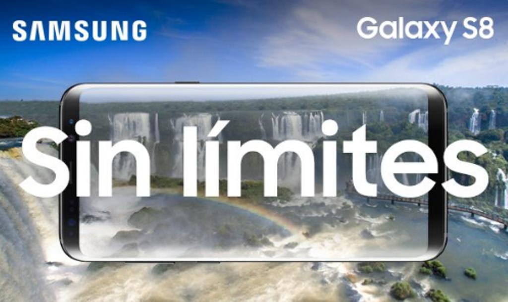 Efecto Maravilla: Samsung promociona al nuevoGalaxy S8 con las Cataratas del Iguazú como imagen emblemática