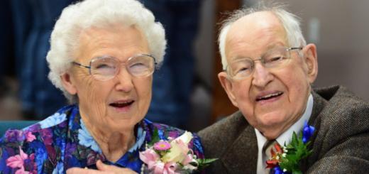 El matrimonio huracán: se llaman Irma y Harvey y están casados hace 75 años