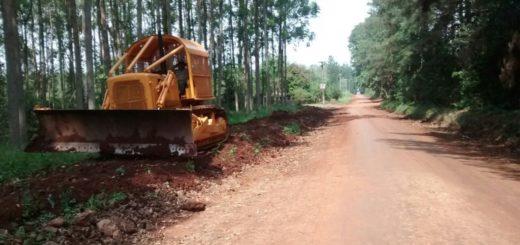 Montecarlo: iniciaron primera etapa de obras del acceso a Guaraypo