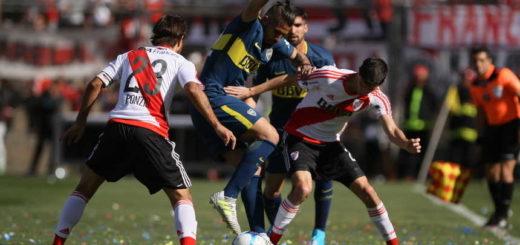 Vea el gol de Junior Benítez, con el que Boca derrotó a River en el primer Superclásico de la temporada