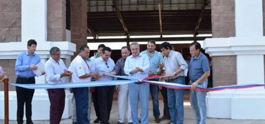 Passalacqua dejó inaugurada la terminal de transferencia de avenida Quaranta