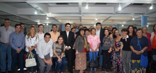 Losada firmó el acta fundacional del Ecosistema Emprendedor de Posadas