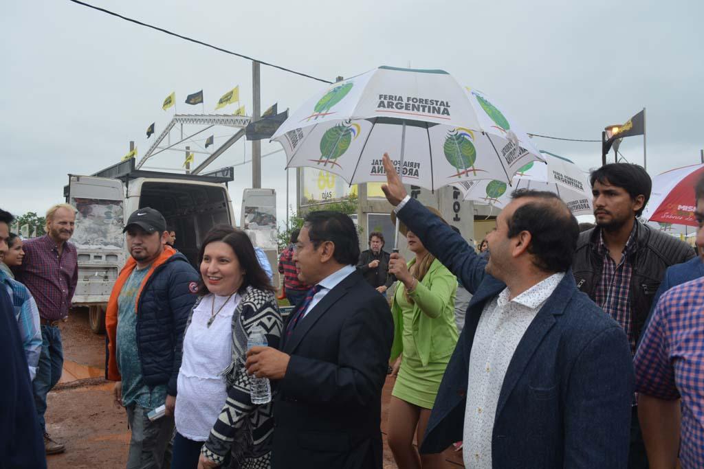 Herrera Ahuad inauguró oficialmente la 12° edición de la Feria Forestal Argentina
